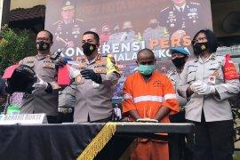 Polisi ringkus residivis pencurian motor di Kota Malang
