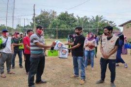 Relawan KPU Binjai sosialisasi pilkada ke penyandang disabilitas