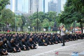 Kapolda Sumut motivasi personel Brimob yang BKO di Polda Metro Jaya