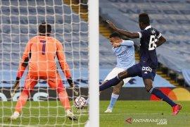 Liga Champions - Manchester City bekuk Olympiakos 3-0, bintang muda Jesus sumbang gol