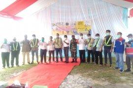 5.062 jaringan gas di Kabupaten Penajam beroperasi bertahap