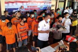 Polresta Pematangsiantar ungkap 38 kasus narkoba, 20 residivis ditangkap