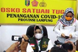 Jumlah pasien meninggal akibat COVID-19 di Lampung bertambah 4 orang