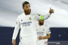 Liga Champions  Ramos absen perkuat Real Madrid derby Inter Milan