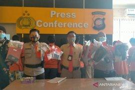 Sebelas tersangka kasus narkotika selama Oktober di Singkawang