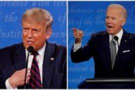 Trump-Biden bersaing ketat berpotensi picu kekhawatiran pasar