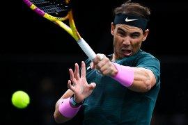 """Nadal bersiap hadapi ATP Finals setelah tampil """"positif"""" di Paris"""