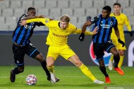 Erling Halland bawa Dortmund menang di kandang Brugge