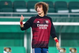 David Luiz kembali berlatih jelang Arsenal lawan Molde