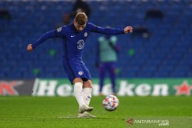 Dua penalti Timo Werner antar Chelsea bekap Rennes