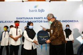 Bank BJB salurkan bantuan kemanusiaan kepada panti anak yatim-piatu