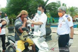 Pjs Wali Kota gebrak masker bersama Dishub