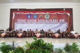 Pemkab Bangka Tengah sosialisasikan 4M cegah COVID-19