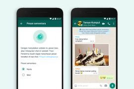 WhatsApp resmi luncurkan fitur pesan sementara