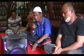 Keluarga tiga anak hilang Salapian Langkat lakukan doa bersama
