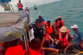 Kapal motor tujuan  Sunda Kelapa tenggelam