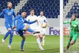 Liga Europa: Hoffenheim  hantam Slovan Liberec 5-0