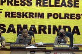 Polisi tetapkan dua tersangka perusakan saat demo di DPRD Kaltim