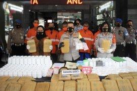 Polisi sita 38 kilogram ganja di Kota Malang