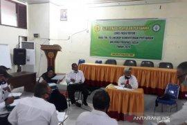 414 Penyuluh calon ASN P3K ikut sertifikasi TUK Polbangtan Medan di Aceh