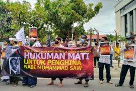 Forum silaturahim majelis ta'lim Banjarmasin aksi damai cinta nabi dan bela Islam