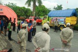 Bantuan dari Banjarbaru mengalir ke korban kebakaran Kotabaru