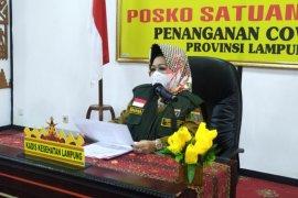 Konfirmasi positif COVID Lampung bertambah 43 kasus