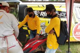 Masyarakat Ketapang ikut pelatihan safety riding dan service motor