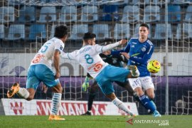 Marseille tembus empat besar Liga Prancis selepas menang di Strasbourg