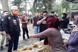 Kampanye Pilkada Kediri, Ganjar Pranowo berikan tips berdayakan UMKM