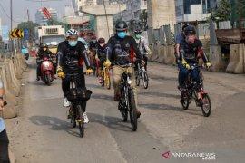 Komunitas dukung Anies kampanyekan sepeda untuk alat transportasi