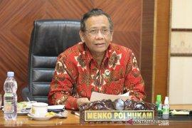 Mahfud apresiasi TNI bergerak cepat dalam kasus Intan Jaya