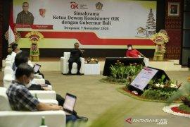 Ketua OJK-Gubernur bahas upaya pemulihan ekonomi Bali