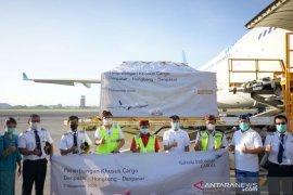 Garuda layani penerbangan kargo Denpasar-Hong Kong