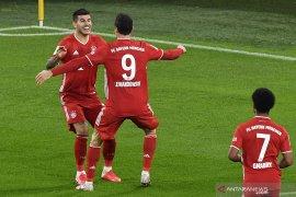 Bayern Munich rebut kembali pimpinan klasemen Liga Jerman