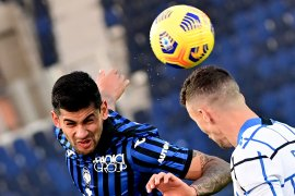 Atalanta kontra Inter Milan hanya berakhir imbang
