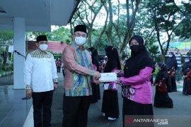 Bupati HSS lepas kafilah MTQ XXVIII Nasional dan FASI XI