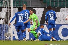 Wolfsburg hantam Hoffenheim untuk perpanjang catatan tidak terkalahkan