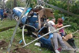 Helikopter jatuh di Malaysia, dua  meninggal