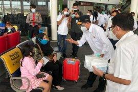 Jumlah pengguna jasa di Bandara Kualanamu 10.000  orang per hari