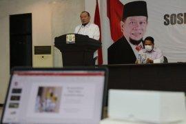 Ketua DPD RI prihatin masih ada masyarakat terpapar radikalisme dari medsos