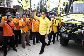 Tiba di Medan, Ijeck langsung kunjungi kantor DPD Golkar Sumut