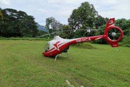 Dua helikopter tabrakan, dua orang meninggal