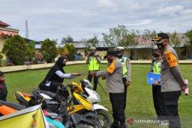 Polisi tangkap dan kembalikan 204 sepeda motor curian