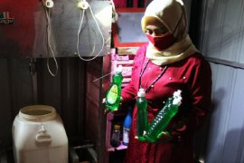 Produksi sabun cair rumahan