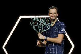 Petenis Rusia ketiga Daniil Madvedev juara Paris Masters