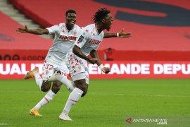 Liga Prancis - Tumbangkan Nice 2-1, Monaco perbaiki posisi klasemen