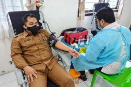 Aksi donor darah ASN Aceh himpun 5.640 kantong darah