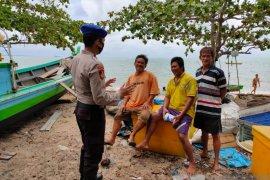 Polres Bangka Barat ingatkan nelayan waspadai angin kencang