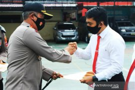 14 anggota Polresta Banjarmasin mendapat penghargaan ungkap sabu 35,7 Kg